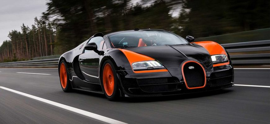 Сколько стоит содержать Bugatti Veyron?