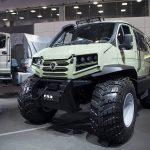 """Вездеход-амфибия на базе ГАЗ """"Соболь"""""""