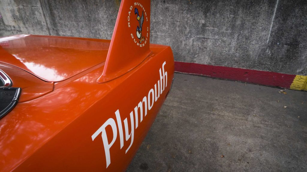 Plymouth Superbird 1970 года