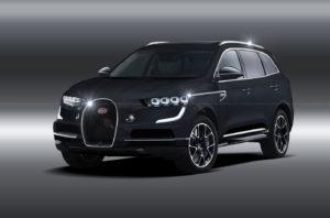 внедорожник Bugatti