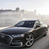 Атмосферная фотосессия флагманского седана Audi A8