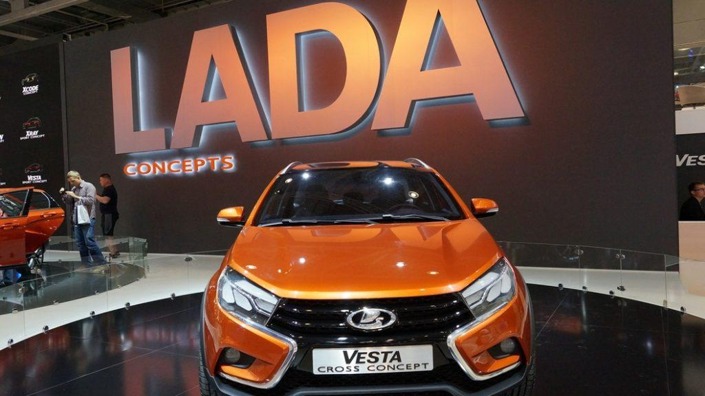 Экспорт Lada