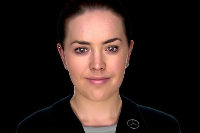 цифровой помощник Mercedes