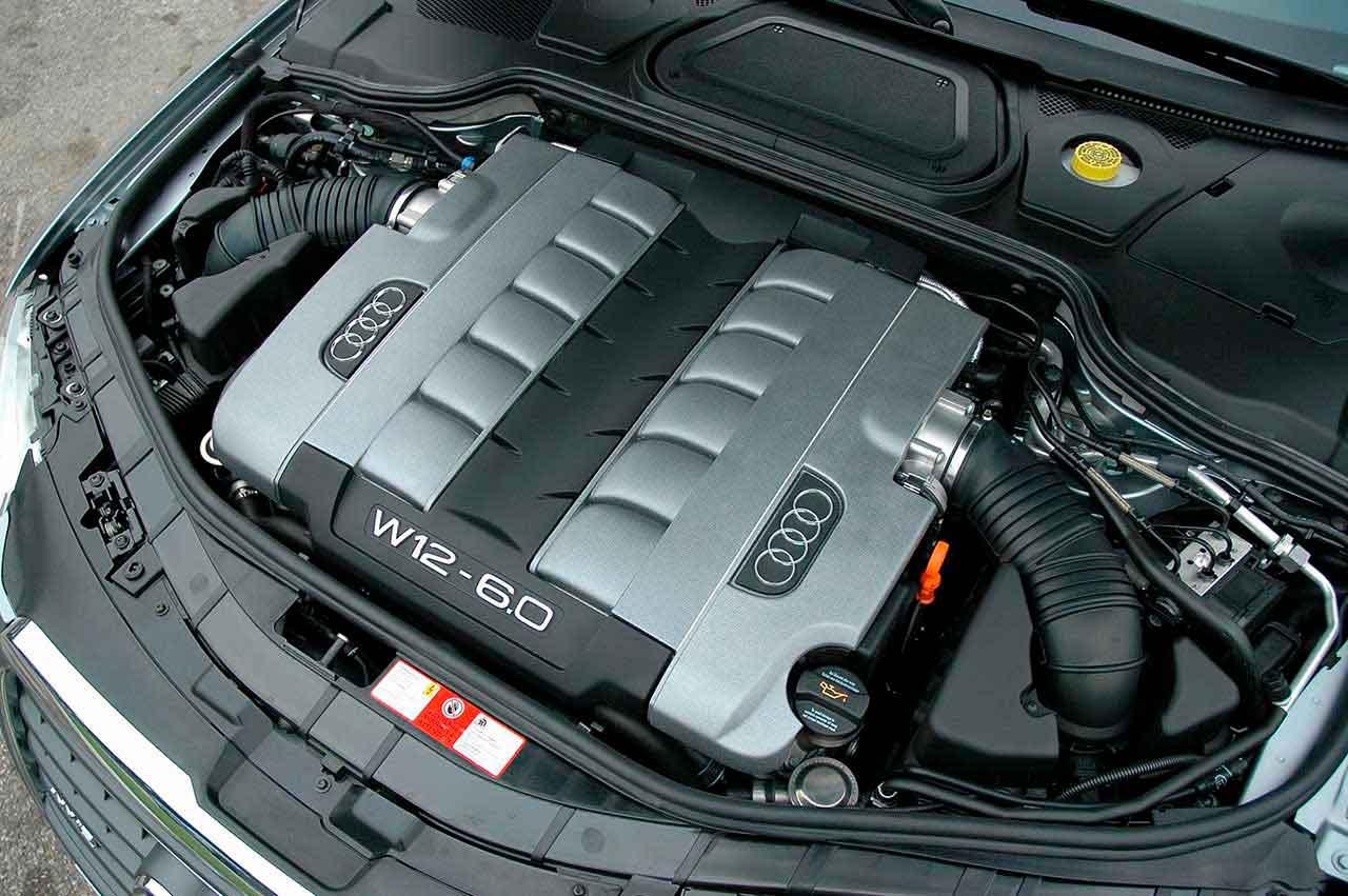 Audi откажется от двигателей W12
