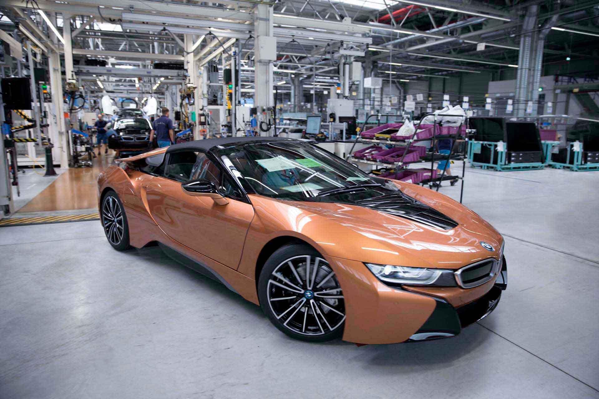 Купе и новый родстер BMW i8