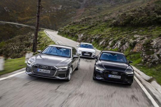 Три новых цвета Audi A6 2019
