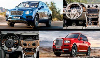 Rolls-Royce Cullinan Vs. Bentley Bentayga: кто из них привлекательнее?