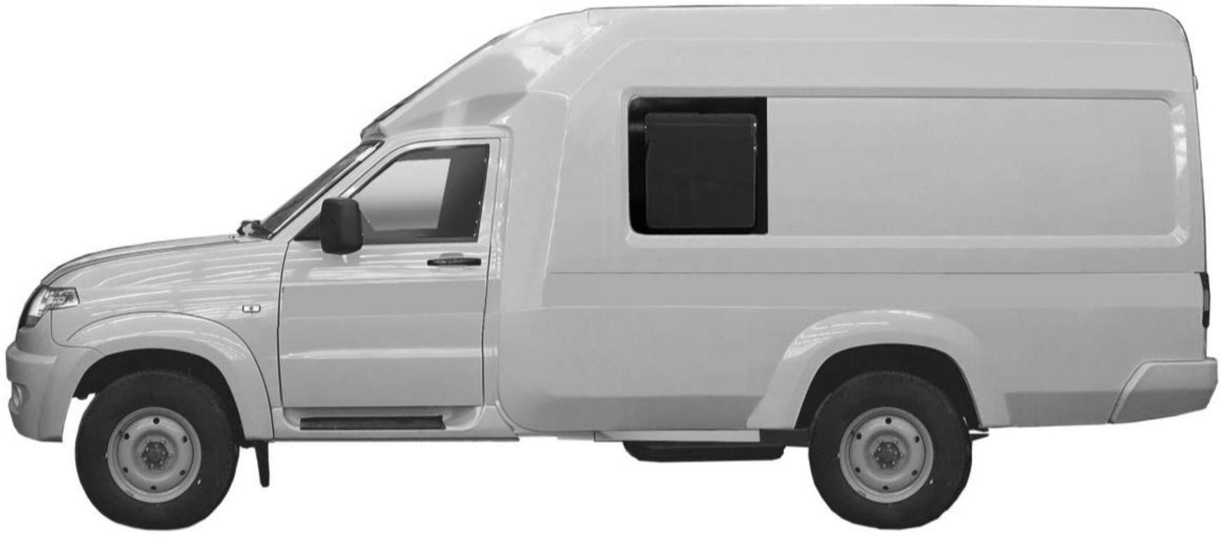 УАЗ Профи фургон