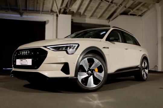 2019 Audi E-Tron quattro.