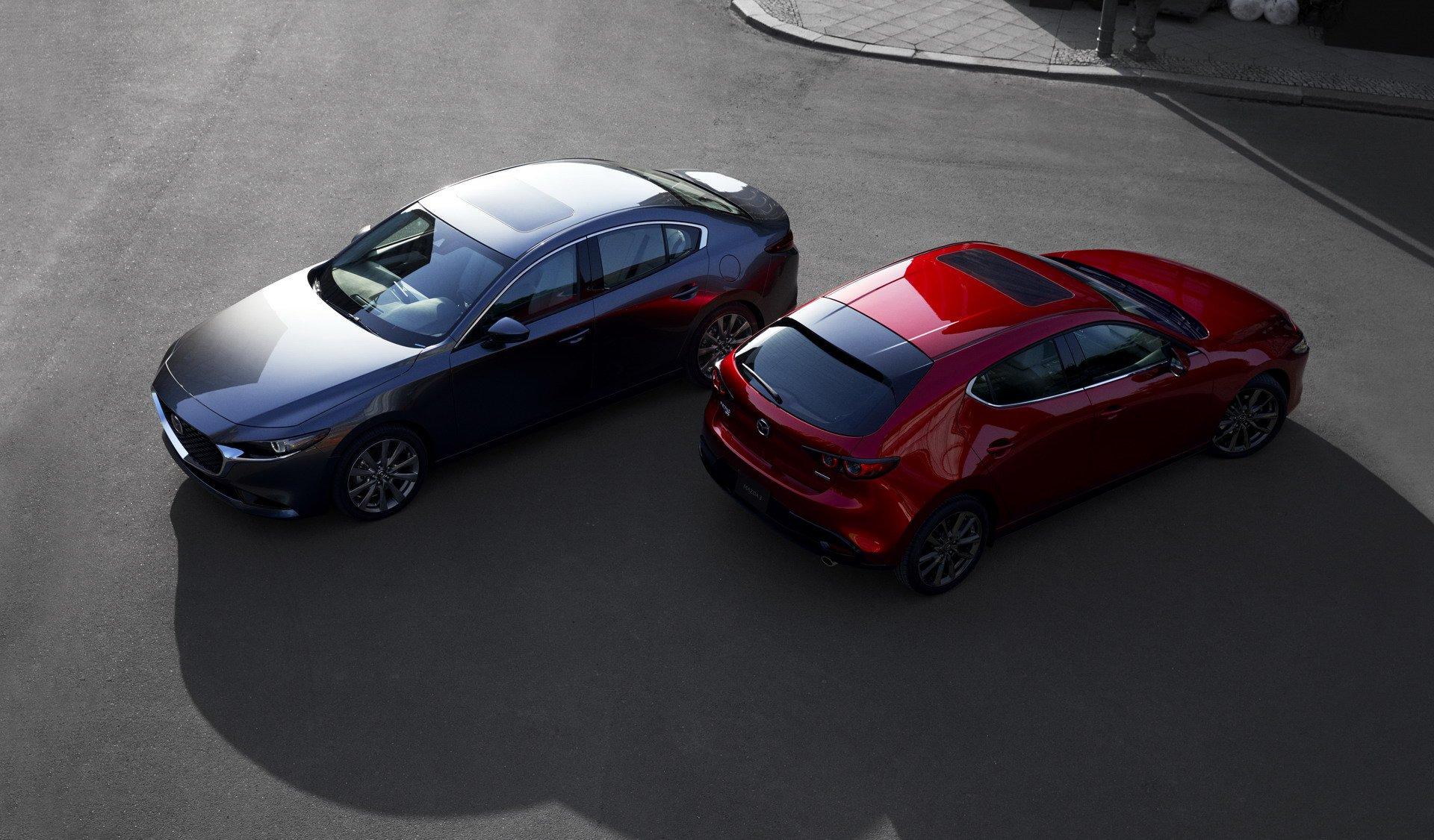 Mazda3: первые официальные фотографии