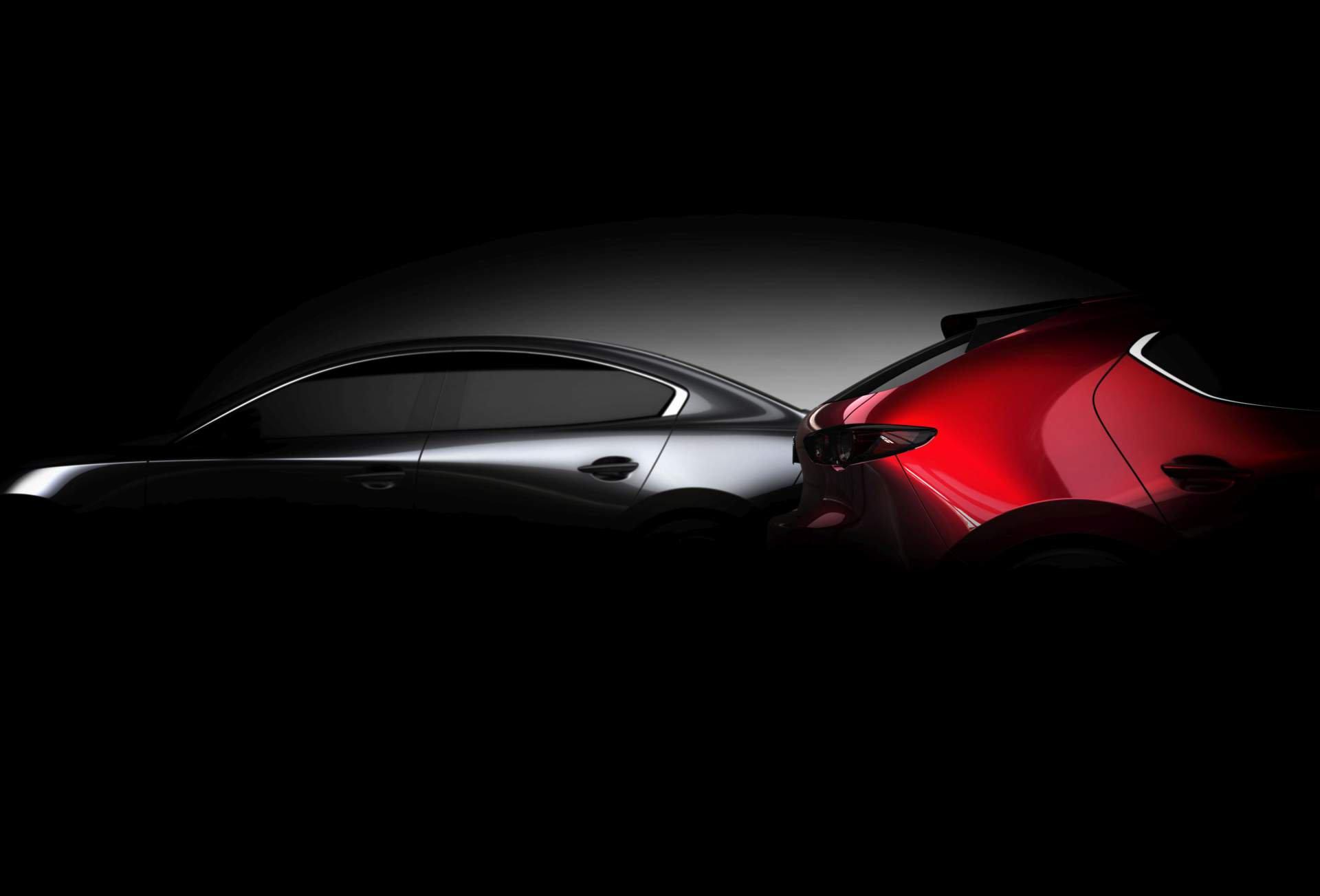 Mazda 3 дебютирует в Лос-Анджелесе