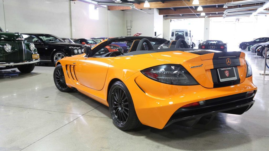 Mercedes SLR 722S Roadster McLaren Edition