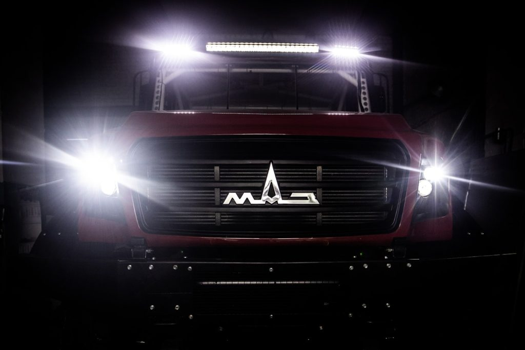 грузовик МАЗ для ралли-рейдов