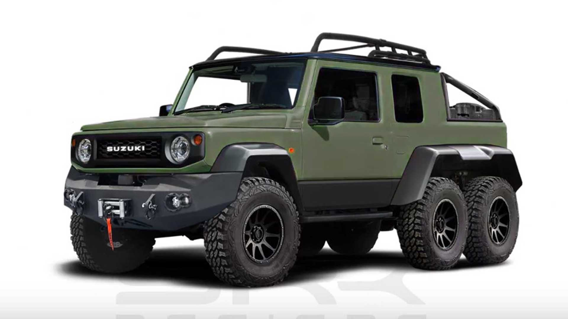 Suzuki Jimny 6x6