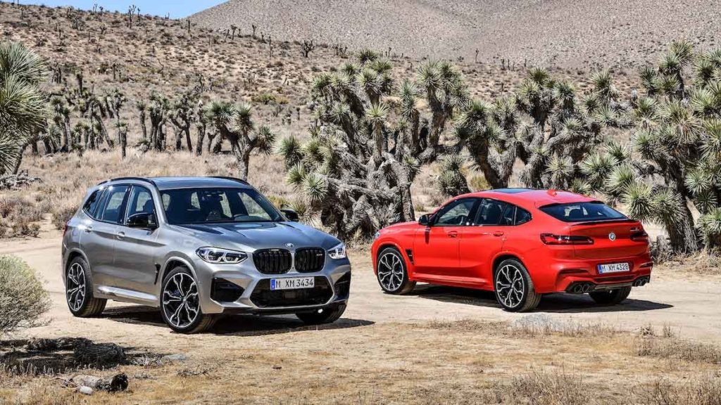 BMW X3 M и X4 M 2020