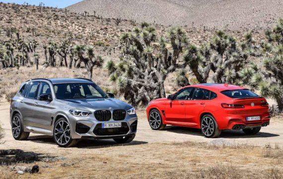 BMW X3 M и X4 M 2020.
