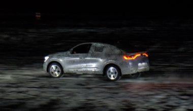 Renault Arkana показали живьем.