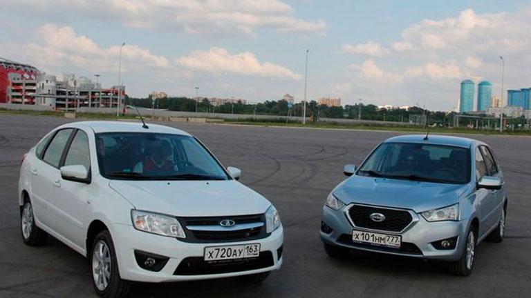 Datsun on-DO и Lada Granta. Отличия седанов.