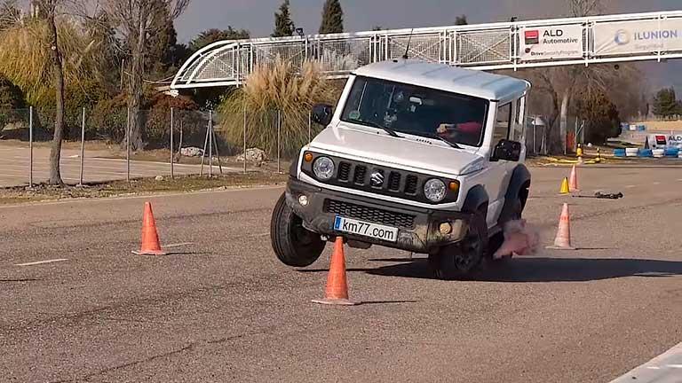 """Suzuki Jimny 2019 """"Лосиный тест"""""""