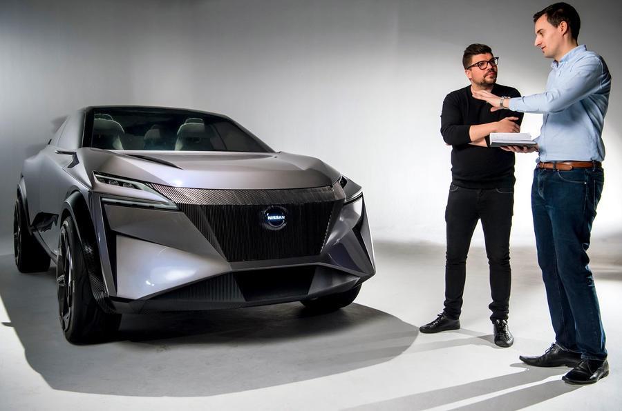Nissan представил следующее поколение Qashqai концептом IMq.