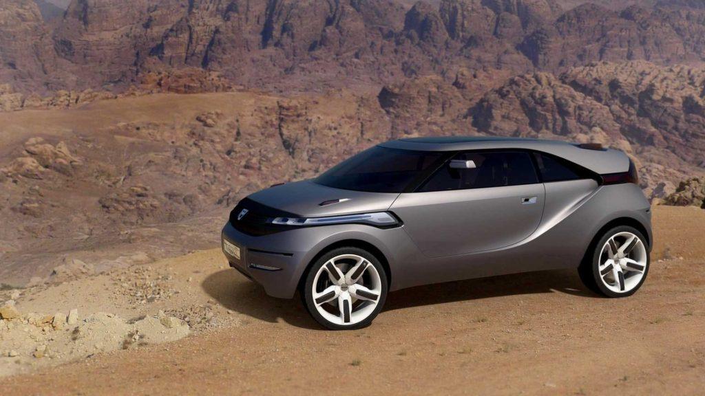 Renault Duster концепт 2009