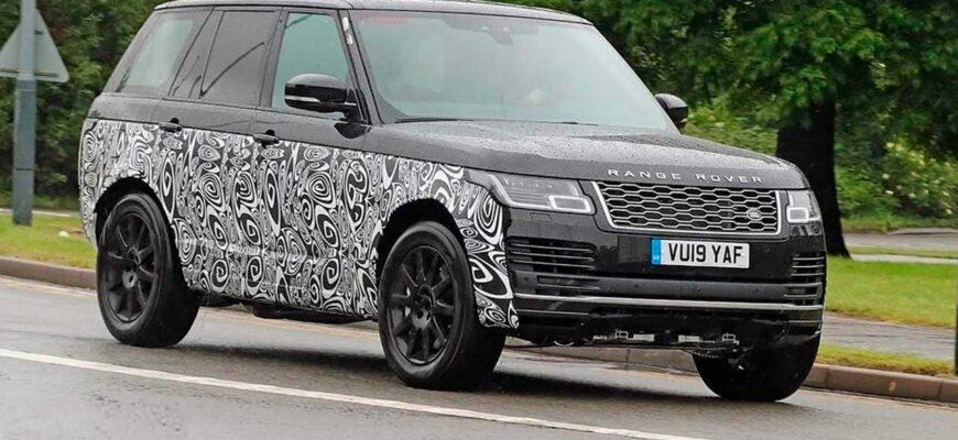Новый Range Rover 2022