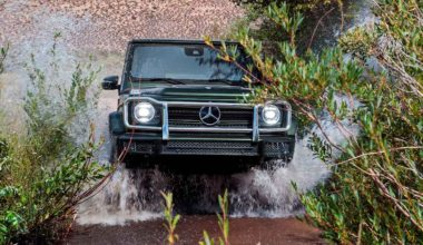 Mercedes показал как нужно преодолевать бездоржье на G-Class