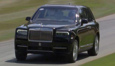Rolls-Royce Cullinan покорил Гудвуд Хилл