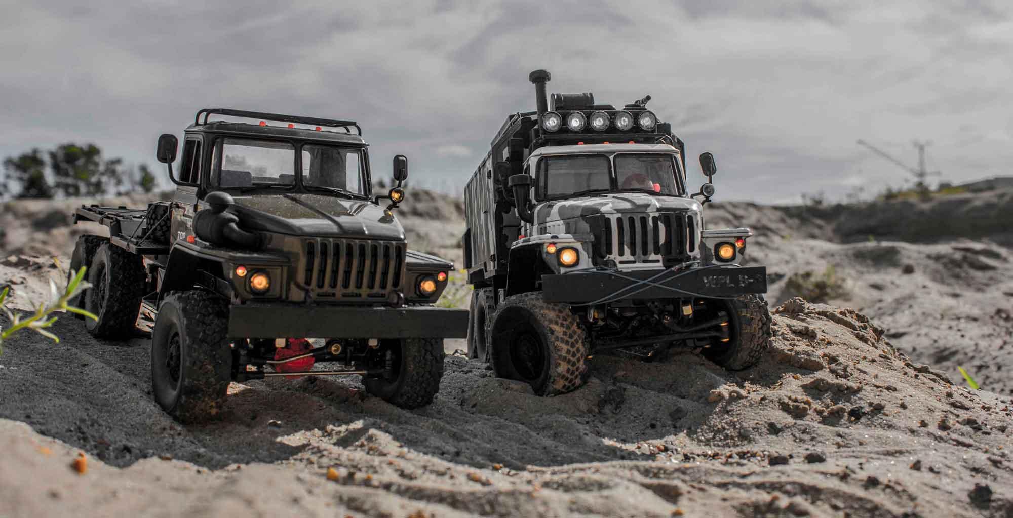 модели грузовиков