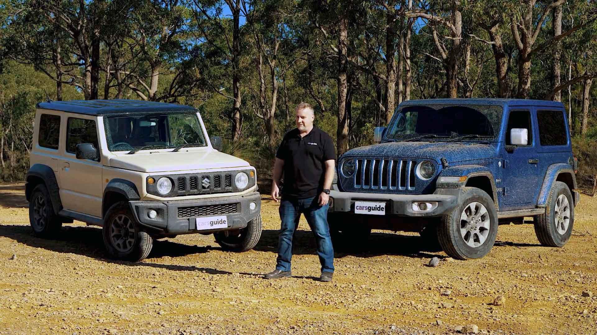 Suzuki Jimny против Jeep Wrangler Overland