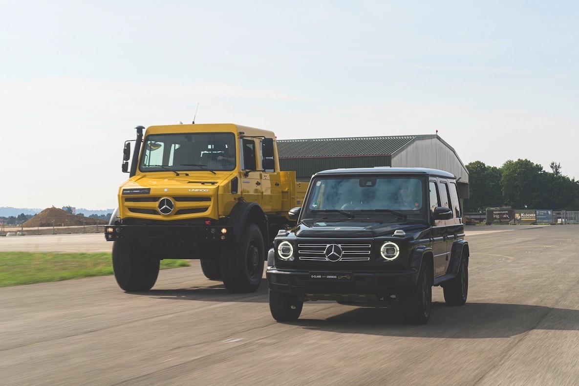 Unimog и G-Class