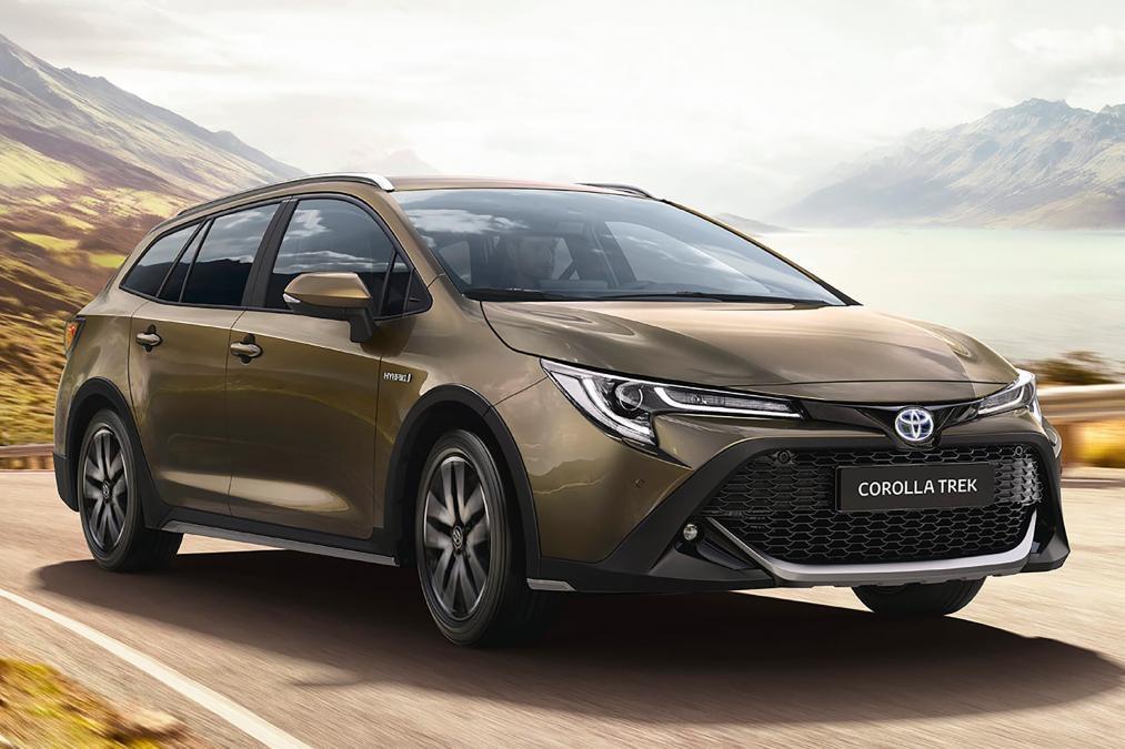 Toyota Corolla TREK 2019 получила внедорожный дизайн
