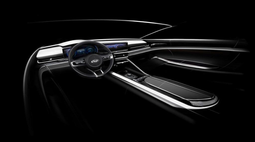 Kia Optima 2021 интерьер