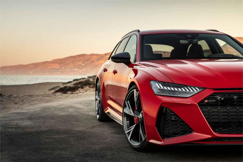 Audi RS6 Avant 2020. Фотосессия под калифорнийским солнцем