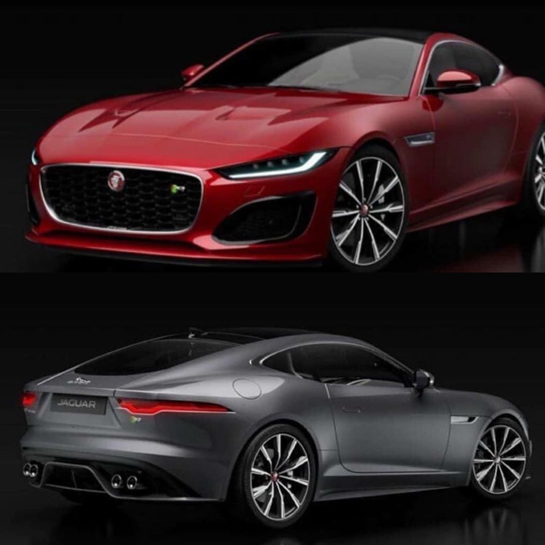 Фото Jaguar F-Type 2020
