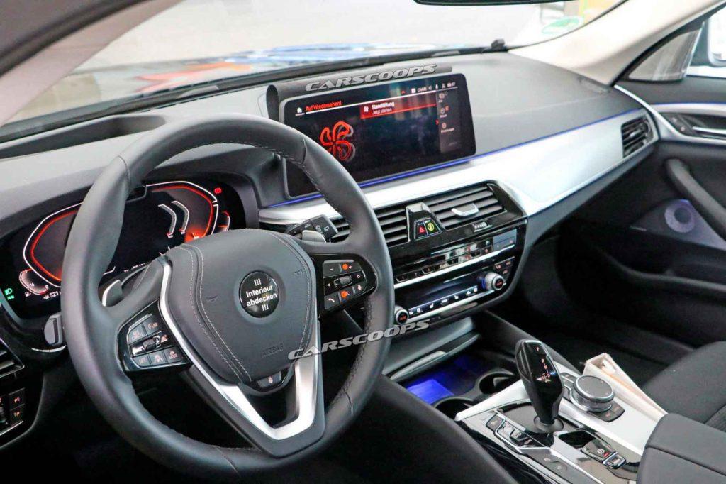 BMW 5-ой серии 2020. Интерьер.