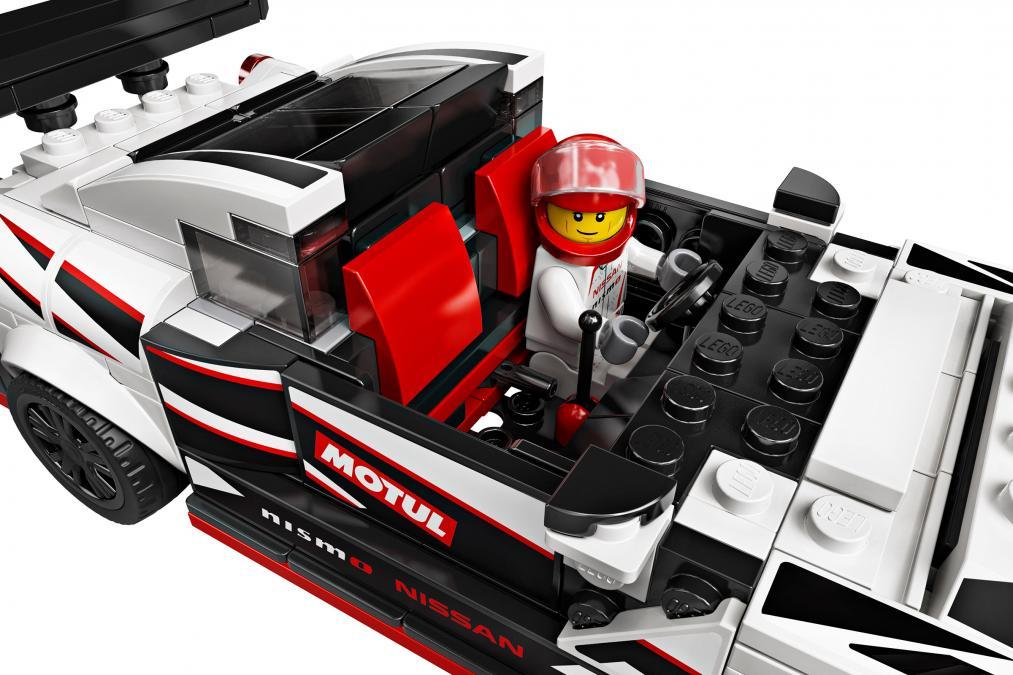 Nissan GT-R NISMO от Lego