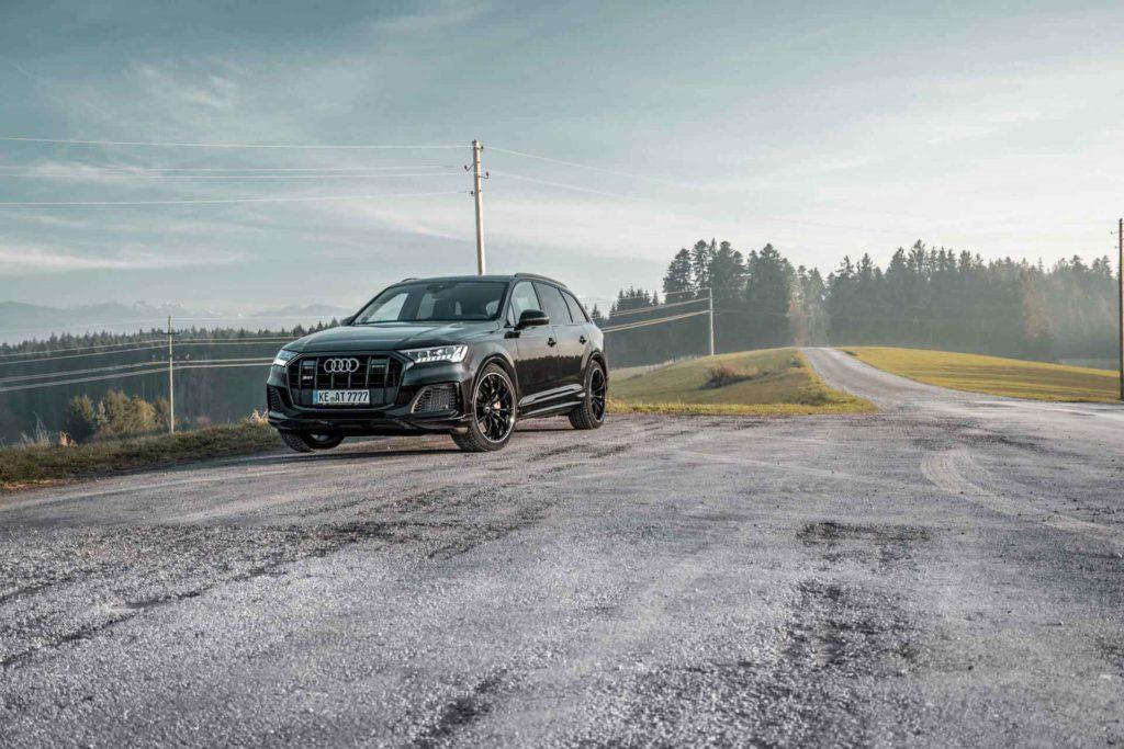 Audi SQ7 2020 тюнинг ABT