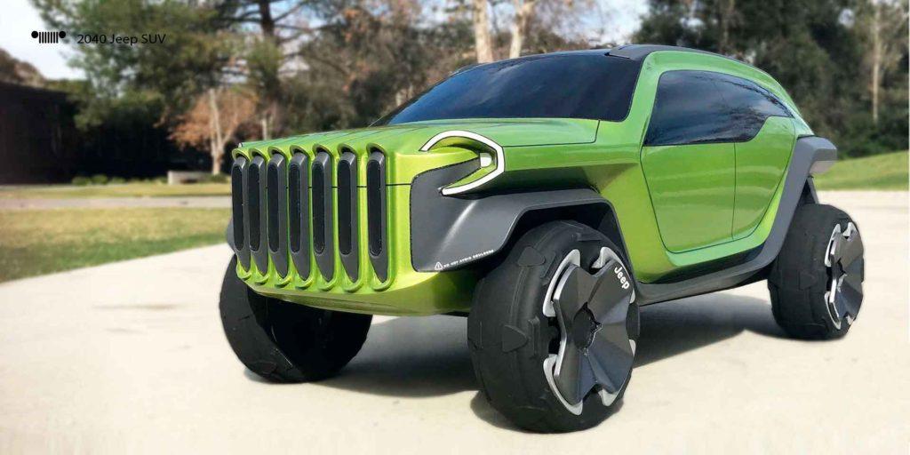 компактный внедорожник Jeep