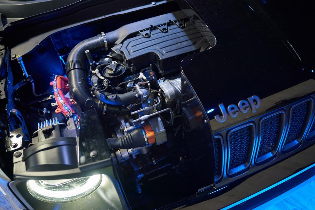 Jeep Renegade и Jeep Compass гибридные версии