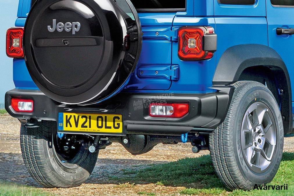 ультра компактный внедорожник Jeep