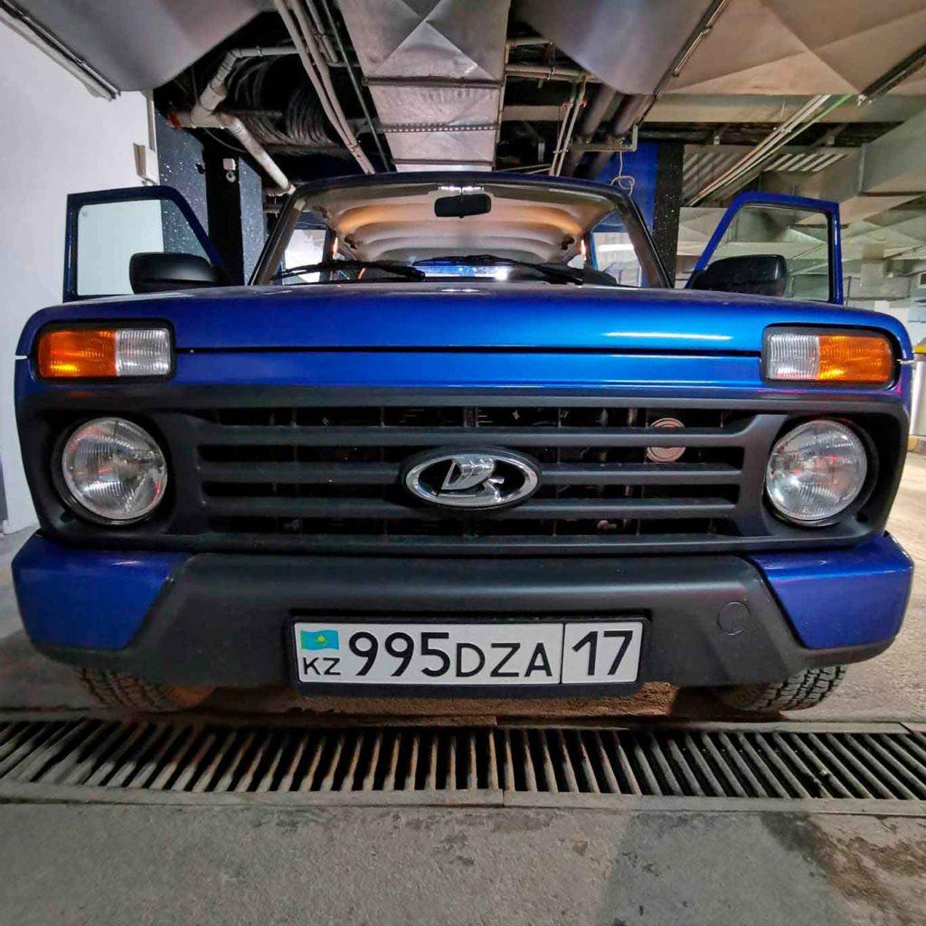 Доработка салона Lada 4x4