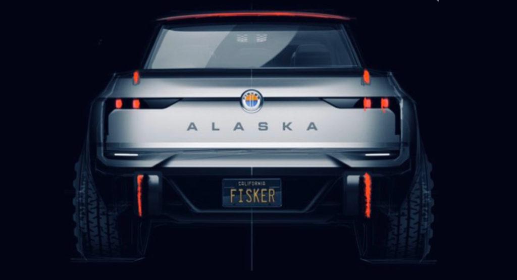 Электрический пикап Fisker Alaska