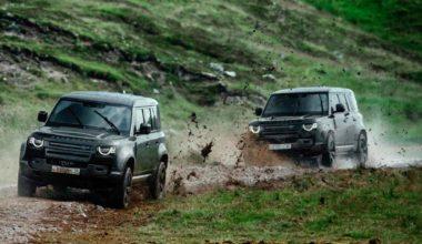 Нет времени умирать! Кадры из фильма стали рекламой нового Land Rover Defender