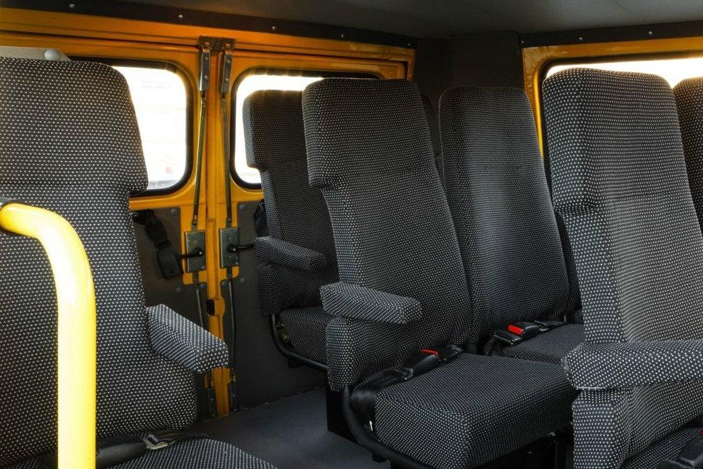 """школьный автобус на базе """"Буханки"""""""