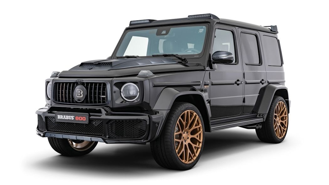 Brabus 800 Black and Gold Edition