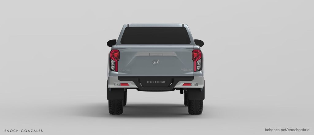 Рамный пикап Hyundai