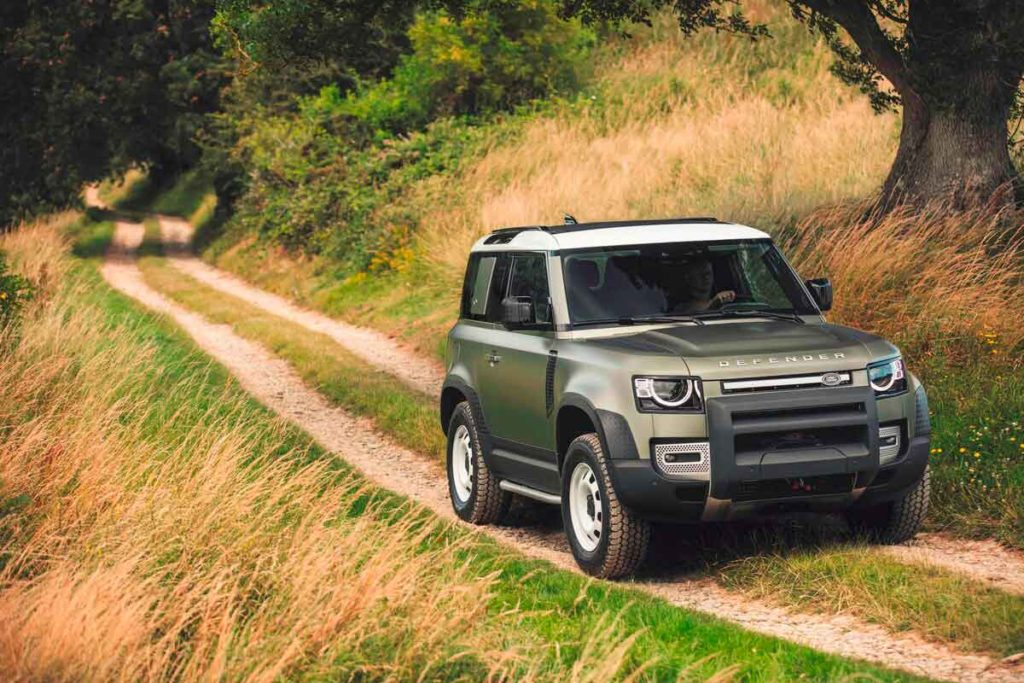 Новый Land Rover Defender