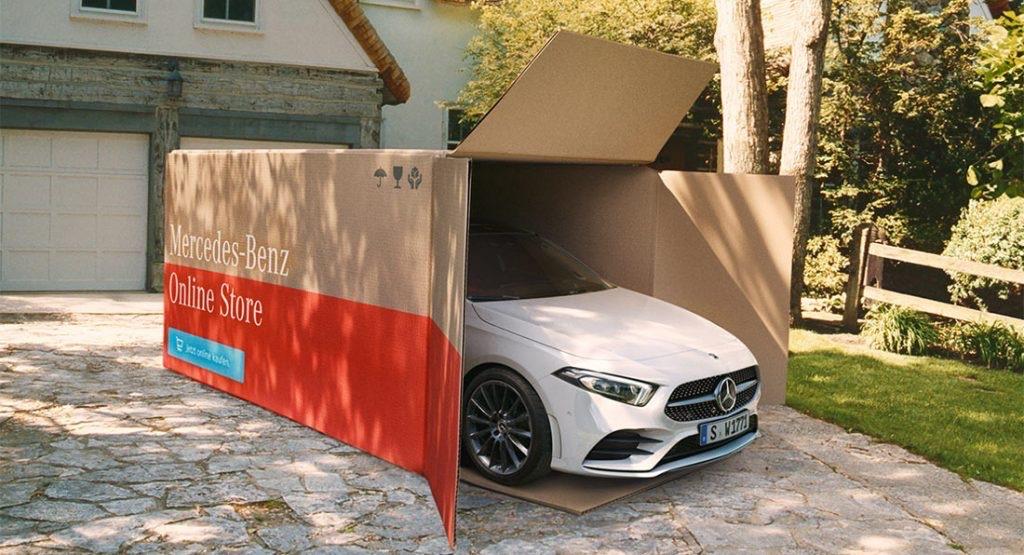 Автомобиль с доставкой на дом от Mercedes-Benz