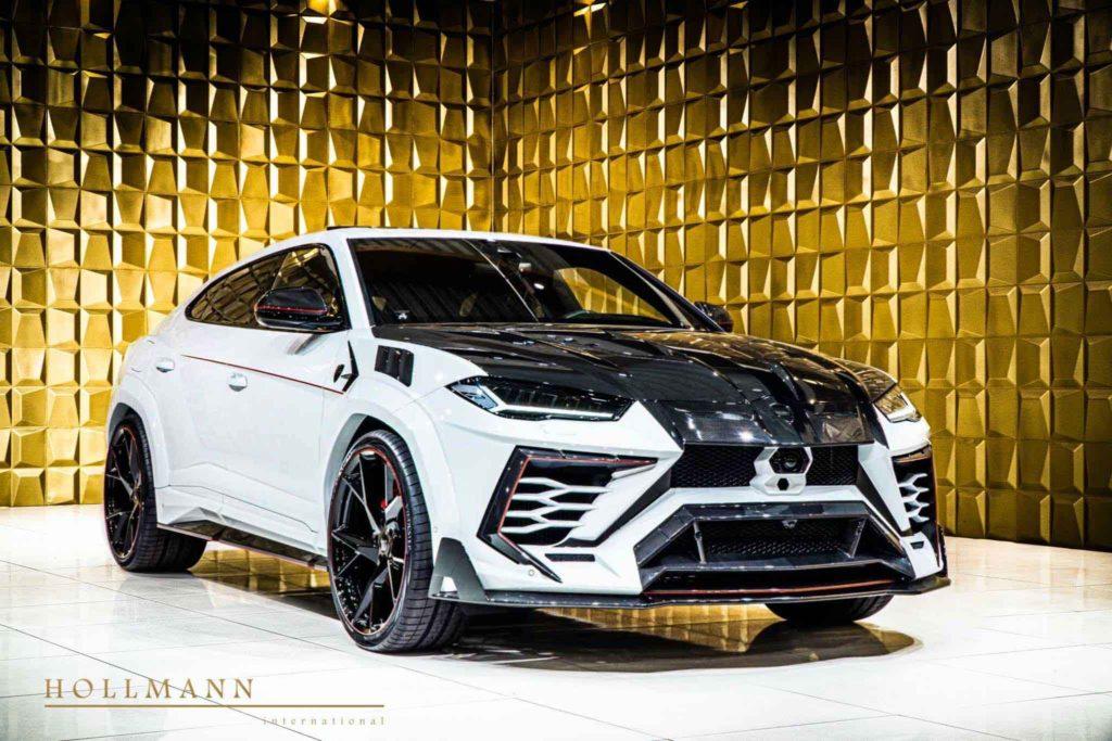 Lamborghini Urus с эпатажным обвесом Mansory Venatus
